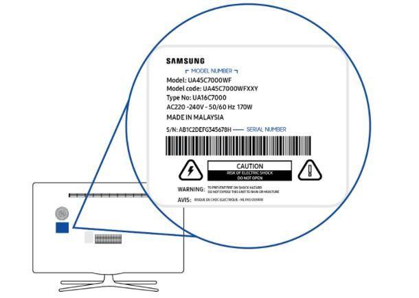 Come trovare il codice TV Samsung