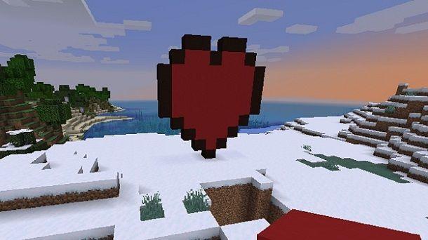Cuore Minecraft