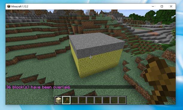 Tetto WorldEdit Minecraft