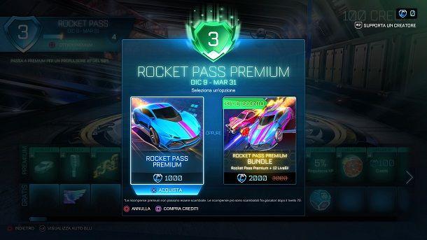 Come ottenere crediti su Rocket League gratis