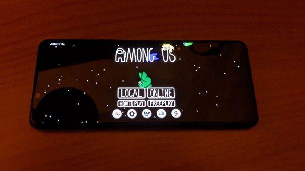 Come giocare insieme su Among Us mobile