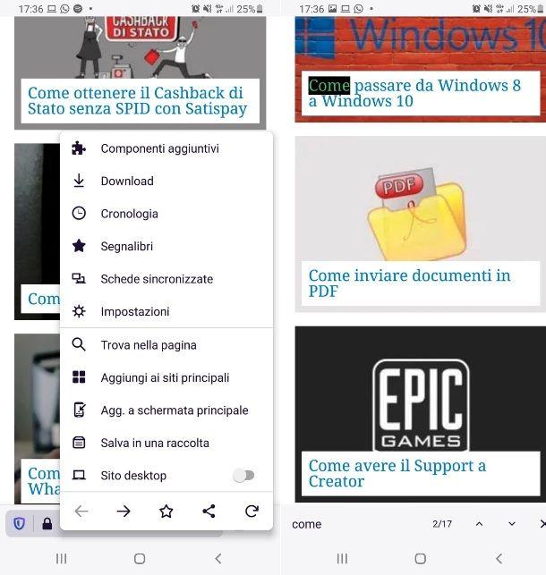 Cerca parola da PC con Firefox