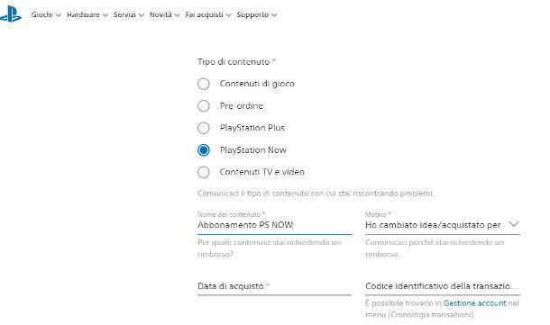 Come farsi rimborsare su PlayStation Store: abbonamenti