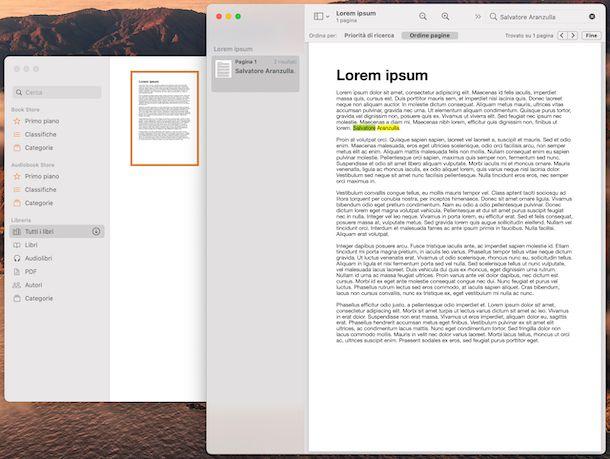 Libri PDF macOS