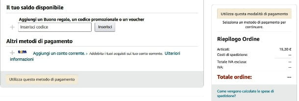 Spendere bonus 18app su Amazon