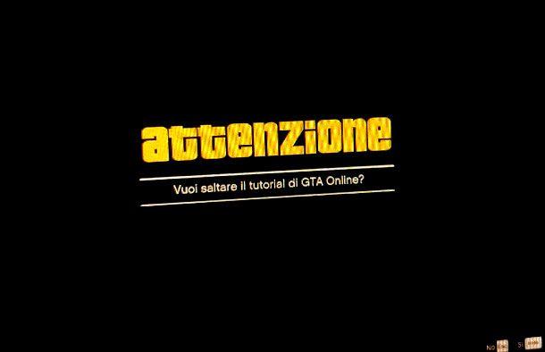 Come fare il tutorial di GTA 5 Online