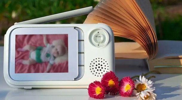 Copertura di un baby monitor