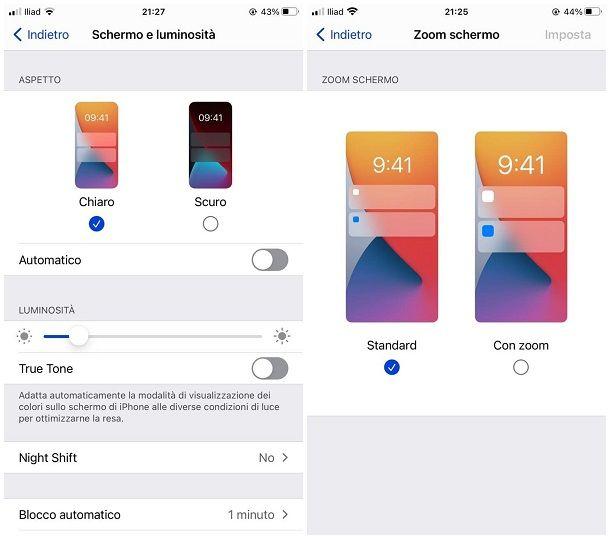 Altri consigli su come personalizzare iOS