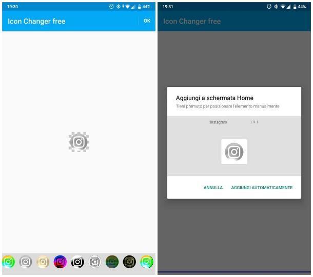 Come cambiare icona Instagram: Android