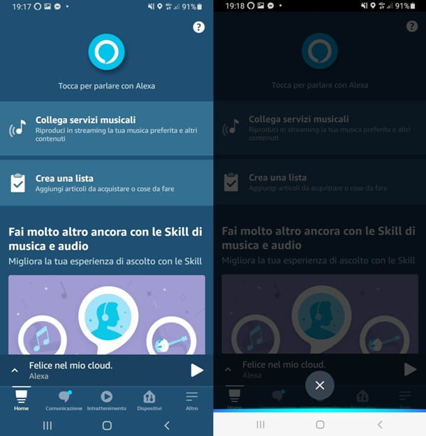 Alexa su Android