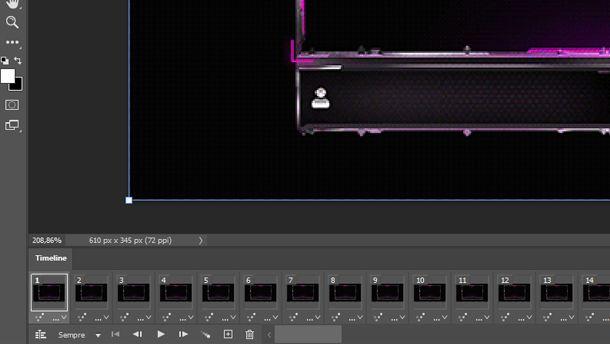 Overlay animato con photoshop