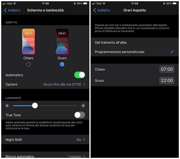 Come modificare iOS: tema