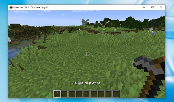 Zappa di pietra Minecraft