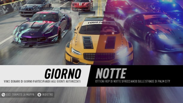 Gare giorno Need for Speed Heat