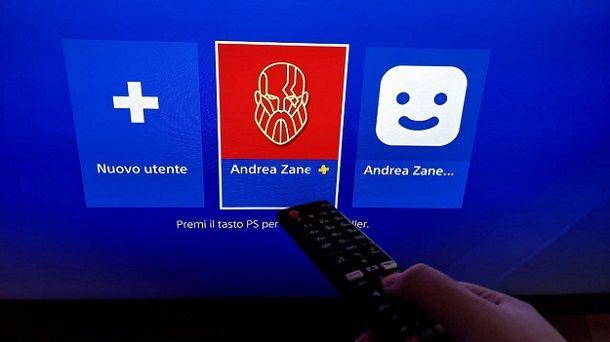 Usare telecomando PS4 HDMI-CEC