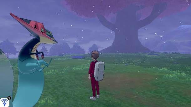 Grande albero nella Landa della corona