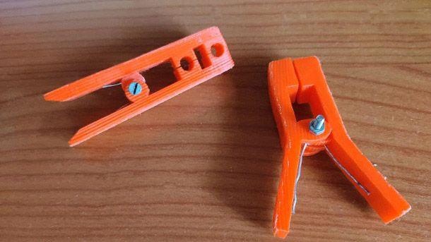 Molletta da bucato stampante 3D