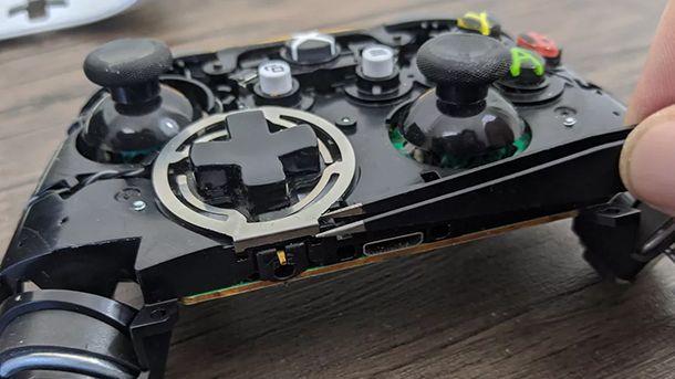 anello metallo controller xbox one