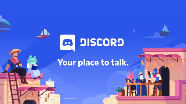 Discord homepage
