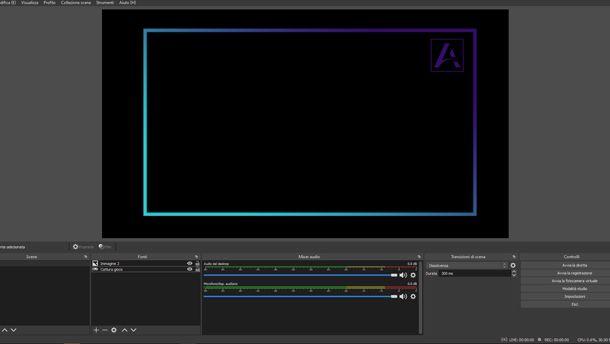 Come creare overlay per obs