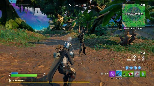 Scontro Predator Fortnite