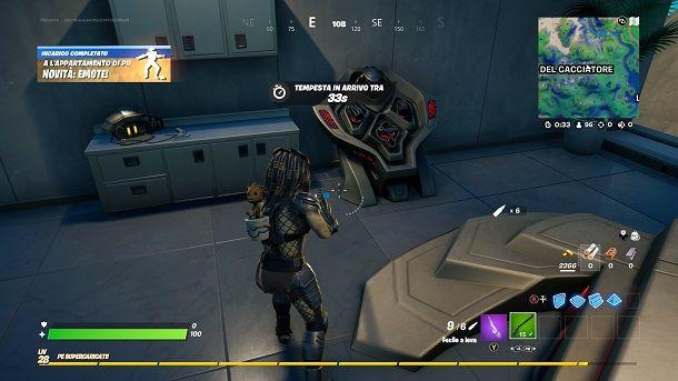 Appartamento Predator Fortnite