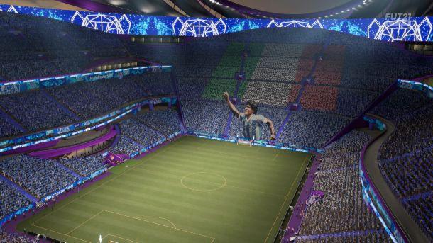 FIFA 21 INIZIO STADIO
