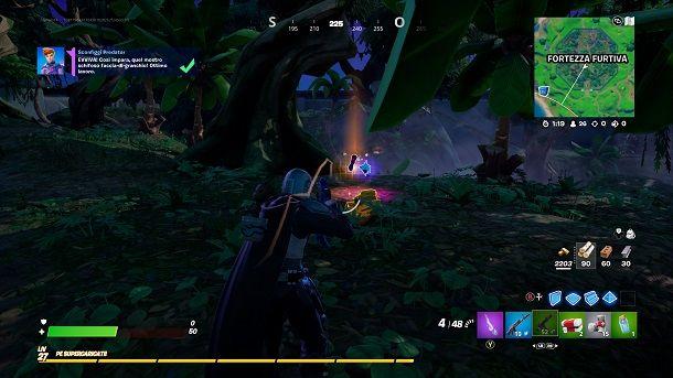Sconfiggi Predator Fortnite