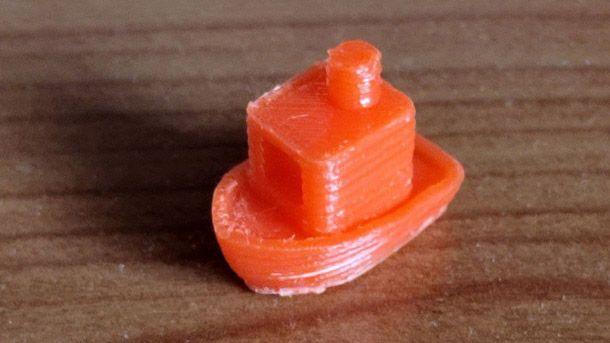 Barchetta stampante 3D