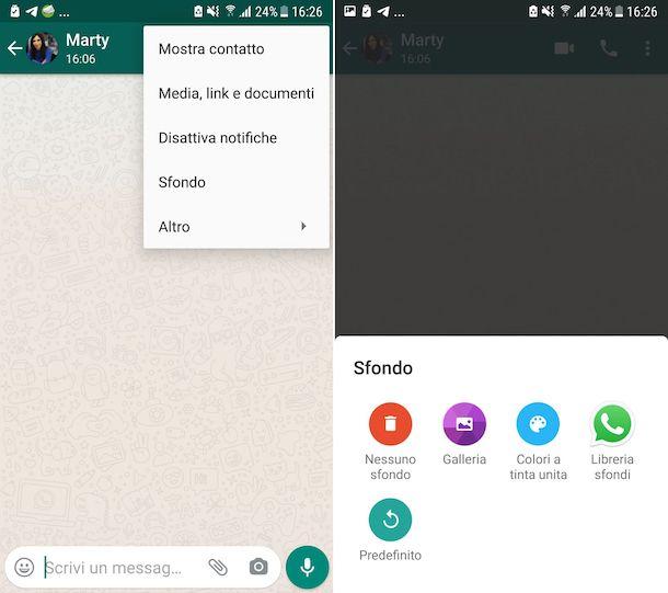 Sfondi WhatsApp Android