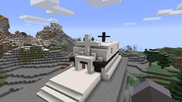 Chiesa Minecraft