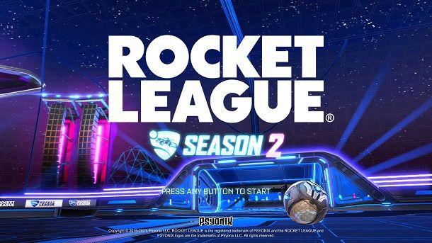 Come cambiare lingua su Rocket League PS4