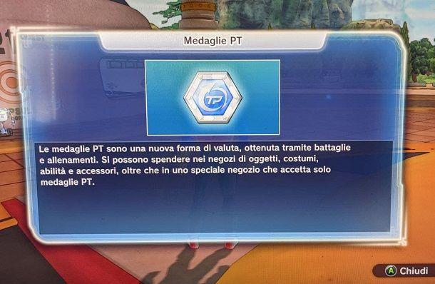 Medaglie PT Dragon Ball Xenoverse 2