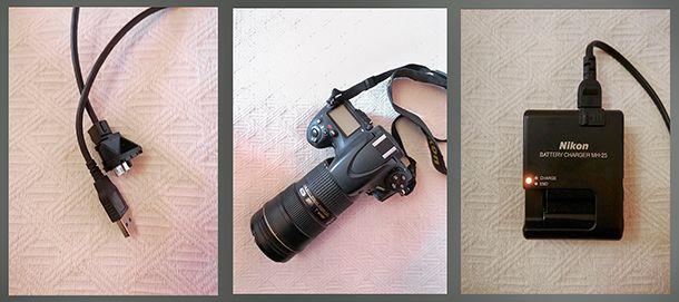Come collegare la fotocamera al PC occorrente
