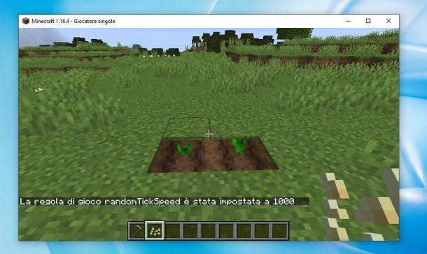 Come velocizzare il tempo su Minecraft