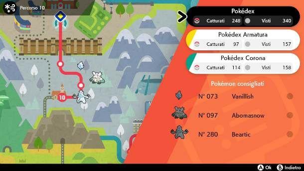 Pokemon Spada pokedex