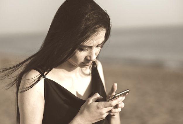 Occhi smartphone