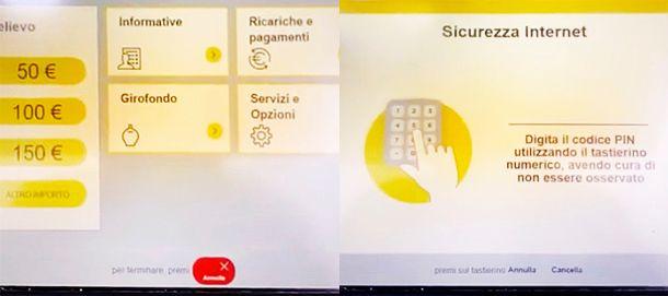 Come attivare app BancoPosta Sicurezza Internet