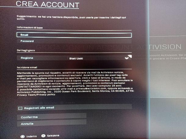 Warzone account Activision