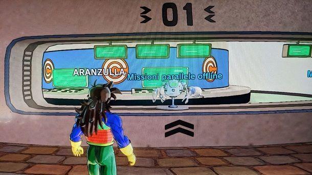Missioni parallele offline Dragon Ball Xenoverse 2