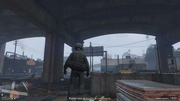 Come avere il borsone GTA Online senza glitch