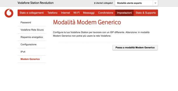 Come trasformare la Vodafone Station in ripetitore WiFi