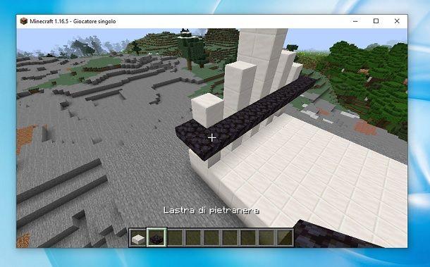 Lastra di pietranera Minecraft