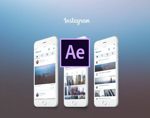 after effects per instagram