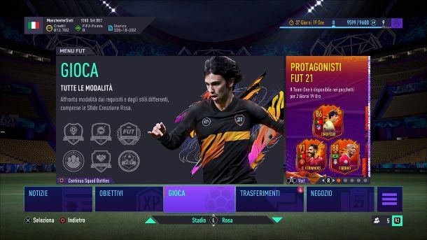 FIFA 21 Hub FUT