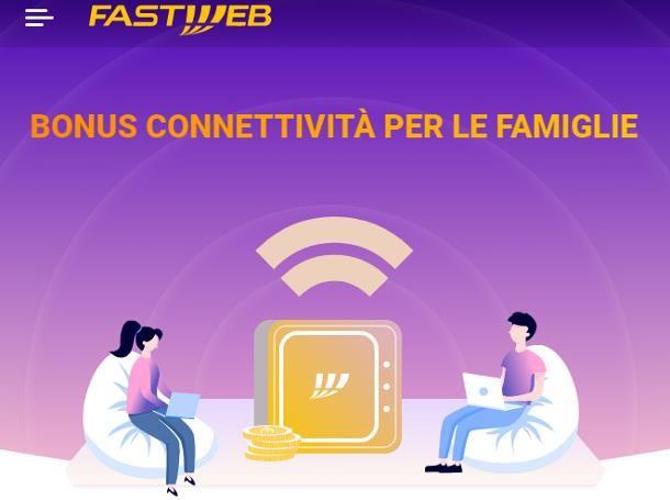 Come ottenere il bonus PC Fastweb