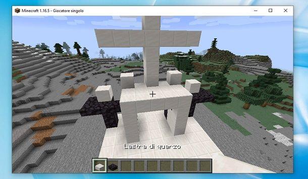 Entrata chiesa Minecraft