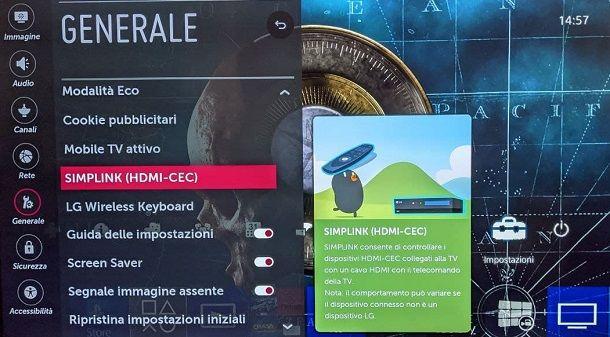 SimpLink Telecomando PS4 LG