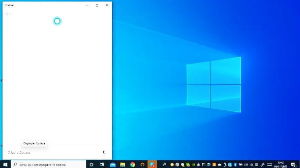 Cortana su PC Windows 10