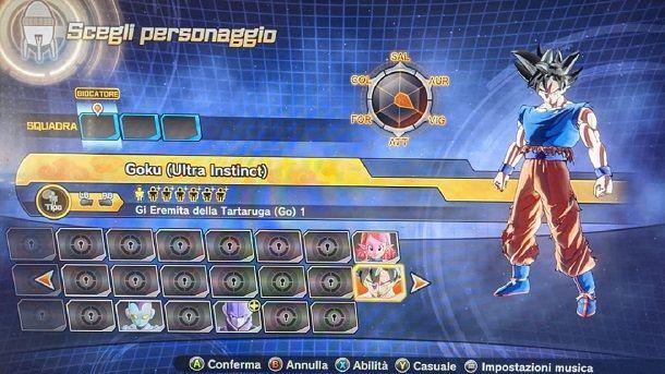Goku Ultra Instinct Mod Dragon Ball Xenoverse 2